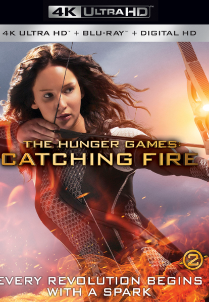 HUNGER GAMES (THE) 2 CATCHING FIRE 4K UHD 4K iTunes DIGITAL COPY MOVIE CODE - MUST HAVE A VALID CANADIAN iTunes ACCOUNT TO REDEEM