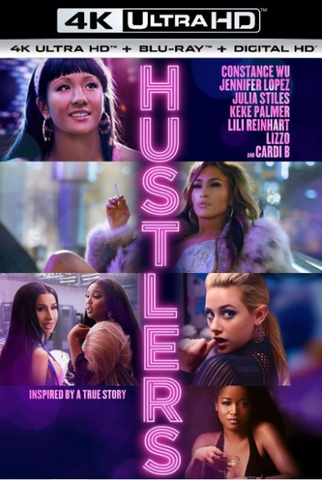 HUSTLERS 4K UHD 4K iTunes DIGITAL COPY MOVIE CODE ONLY (DIRECT INTO ITUNES) USA