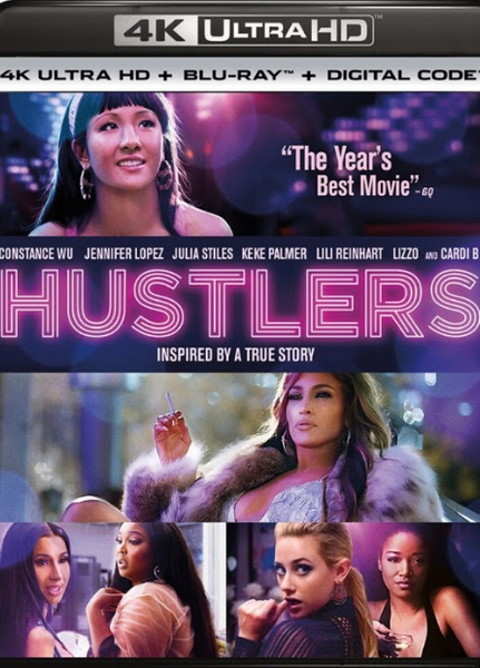 HUSTLERS 4K UHD 4K iTunes DIGITAL COPY MOVIE CODE - MUST HAVE A VALID CANADIAN iTunes ACCOUNT TO REDEEM