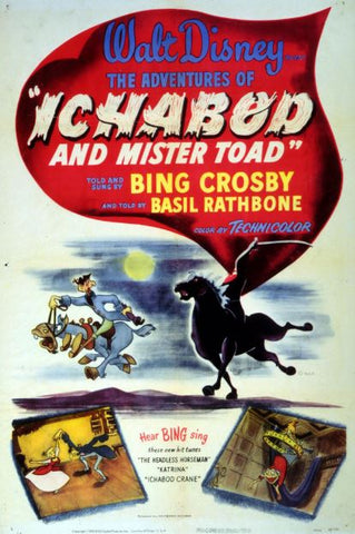 THE ADVENTURES OF ICHABOD AND MR TOAD SPECIAL EDITION DISNEY HD GOOGLE PLAY CODE