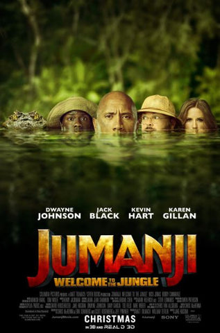 JUMANJI WELCOME TO THE JUNGLE HD GOOGLE PLAY DIGITAL COPY MOVIE CODE (READ DESCRIPTION FOR REDEMPTION SITE) CANADA