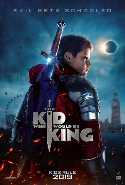 KID WHO WOULD BE KING HD GOOGLE PLAY DIGITAL COPY MOVIE CODE
