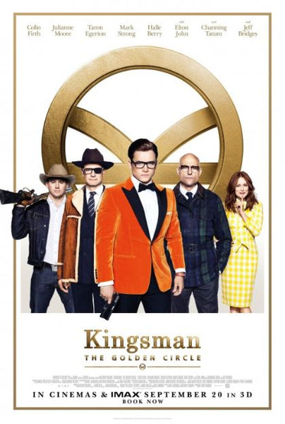 KINGSMAN THE GOLDEN CIRCLE HDX VUDU, HD MOVIES ANYWHERE, 4K UHD 4K iTunes, HD GOOGLE DIGITAL COPY MOVIE CODE (READ DESCRIPTION FOR REDEMPTION SITE) USA