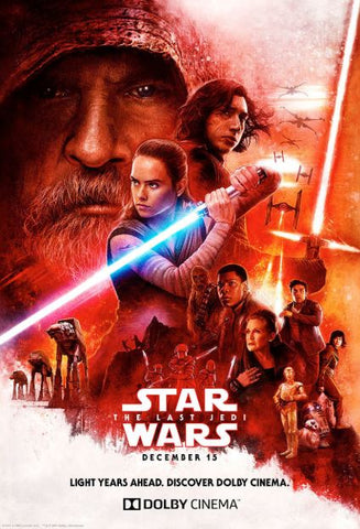 STAR WARS THE LAST JEDI DISNEY HD GOOGLE PLAY CODE
