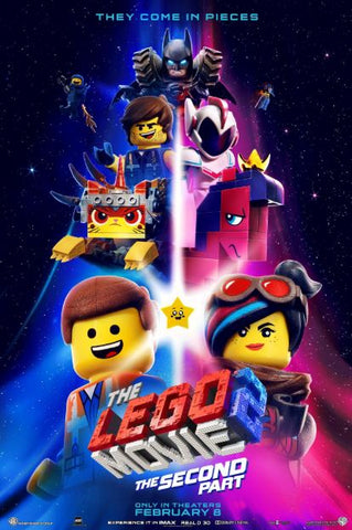 LEGO MOVIE 2 (THE) SECOND PART HD GOOGLE PLAY DIGITAL COPY MOVIE CODE