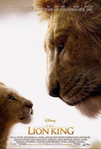 LION KING (THE) (LIVE ACTION) DISNEY GOOGLE PLAY HD DC DIGITAL COPY MOVIE CODE