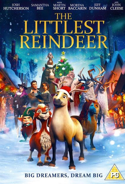 ELLIOT THE LITTLEST REINDEER HD iTunes DIGITAL COPY MOVIE CODE