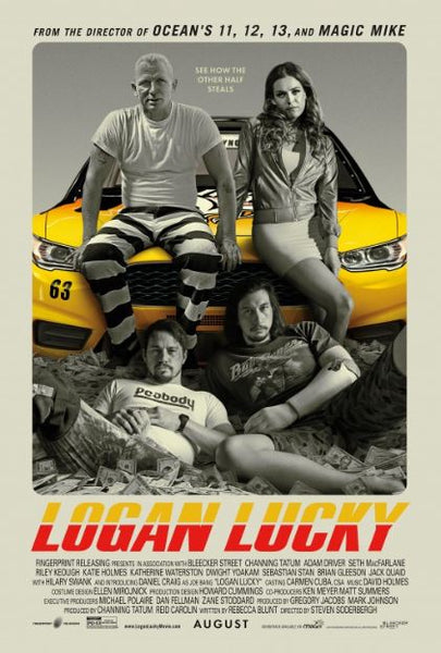 LOGAN LUCKY HDX VUDU, HDX MOVIES ANYWHERE DIGITAL COPY MOVIE CODE ONLY (READ DESCRIPTION FOR REDEMPTION SITES) USA