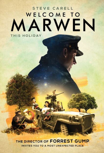 WELCOME TO MARWEN HD GOOGLE PLAY DIGITAL COPY MOVIE CODE