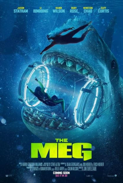 THE MEG HDX UV ULTRAVIOLET DIGITAL COPY MOVIE CODE