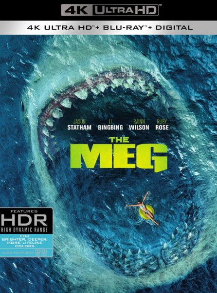 THE MEG 4K UHD 4K UV ULTRAVIOLET DIGITAL COPY MOVIE CODE