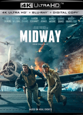 MIDWAY (2019/2020) 4K UHD 4K iTunes DIGITAL COPY MOVIE CODE (DIRECT INTO ITUNES) MUST HAVE A CANADIAN iTunes ACCOUNT