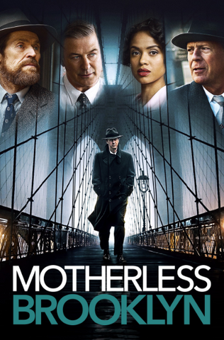 A - MOTHERLESS BROOKLYN (USA) SD MOVIES ANYWHERE / (CANADA) 4K UHD GOOGLE PLAY DIGITAL COPY MOVIE CODE (READ DESCRIPTION FOR REDEMPTION SITE)