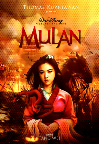 MULAN (LIVE ACTION) DISNEY HD GOOGLE PLAY DIGITAL COPY MOVIE CODE (DIRECT INTO GOOGLE PLAY) CANADA