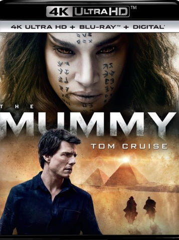 THE MUMMY (2017) 4K UHD 4K iTunes DIGITAL COPY MOVIE CODE