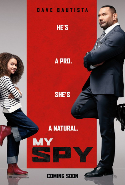 MY SPY HD iTunes DIGITAL COPY MOVIE CODE (DIRECT INTO ITUNES) CANADA