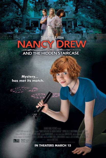 NANCY DREW AND THE HIDDEN STAIRCASE HD GOOGLE PLAY DIGITAL COPY MOVIE CODE  (READ DESCRIPTION FOR REDEMPTION SITE/INFO) CANADA