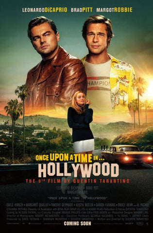ONCE UPON A TIME IN HOLLYWOOD HD GOOGLE PLAY DIGITAL COPY MOVIE CODE