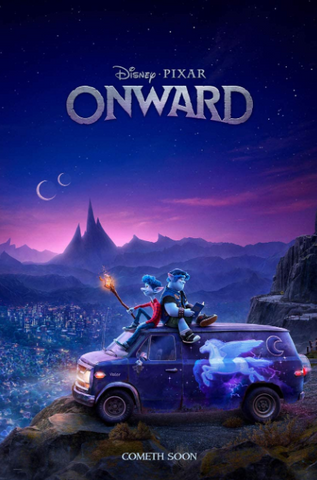 ONWARD DISNEY HD GOOGLE PLAY DIGITAL COPY MOVIE CODE (DIRECT INTO GOOGLE PLAY) CANADA