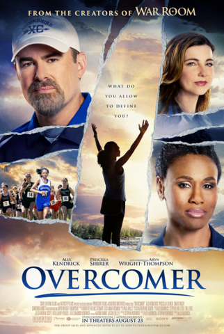 OVERCOMER HD GOOGLE PLAY DIGITAL COPY MOVIE CODE (READ DESCRIPTION FOR REDEMPTION SITE/INFO) CANADA