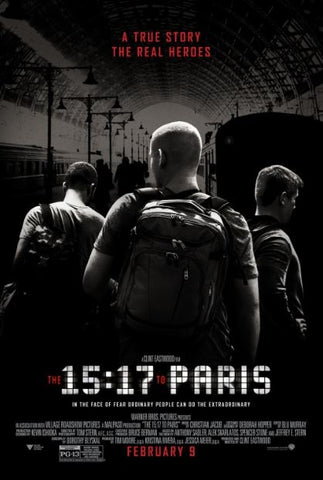 15:17 TO PARIS (THE) HD GOOGLE PLAY DIGITAL COPY MOVIE CODE