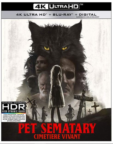 A - PET SEMATARY (2019) 4K UHD 4K DIGITAL MOVIE CODE ONLY (READ DESCRIPTION  FOR REDEMPTION SITE/LINK) USA