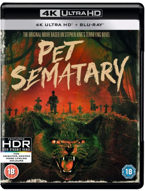 PET SEMATARY 4K UHD 4K DIGITAL MOVIE CODE ONLY (READ DESCRIPTION FOR  REDEMPTION SITE) USA