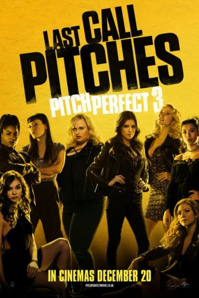 PITCH PERFECT 3 HDX MOVIES ANYWHERE DIGITAL COPY MOVIE CODE (READ DESCRIPTION FOR REDEMPTION SITE) USA