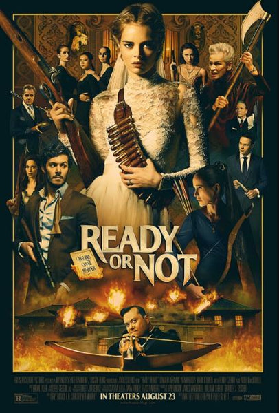 READY OR NOT HD GOOGLE PLAY DIGITAL COPY MOVIE CODE (READ DESCRIPTION FOR REDEMPTION SITE) CANADA