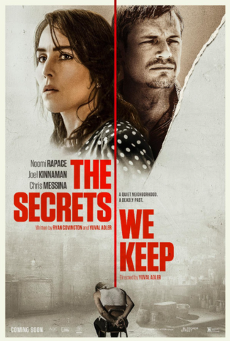 SECRETS WE KEEP (THE) HD iTunes DIGITAL COPY MOVIE CODE (DIRECT IN TO ITUNES) CANADA