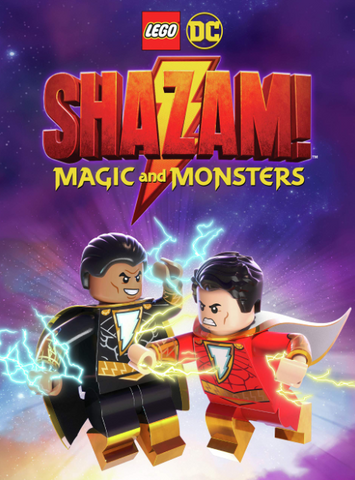 LEGO SHAZAM MAGIC & MONSTER DC HDX MOVIES ANYWHERE (USA) / HD GOOGLE PLAY (CANADA) DIGITAL COPY MOVIE CODE (READ DESCRIPTION FOR REDEMPTION SITE)