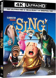 SING 4K UHD 4K iTunes DIGITAL COPY MOVIE CODE