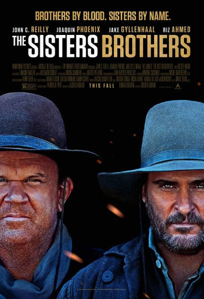 THE SISTERS BROTHERS HD iTunes DIGITAL COPY MOVIE CODE
