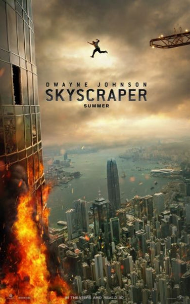 SKYSCRAPER HDX MOVIES ANYWHERE DIGITAL COPY MOVIE CODE (READ DESCRIPTION FOR REDEMPTION SITE) USA