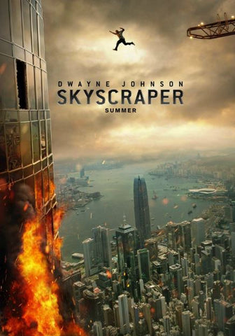 SKYSCRAPER HD GOOGLE PLAY DIGITAL COPY MOVIE CODE (READ DESCRIPTION FOR REDEMPTION INFO) CANADA