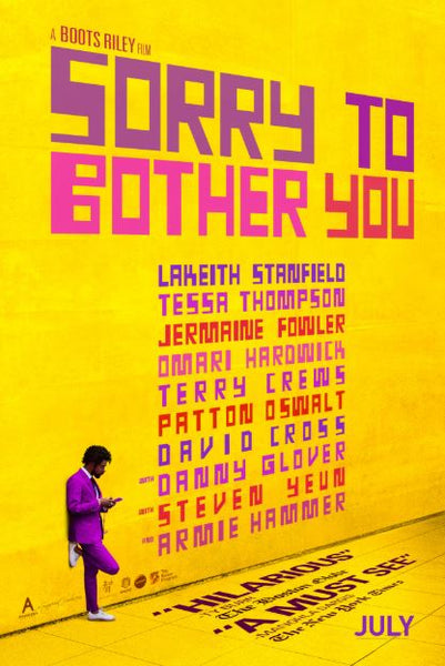 SORRY TO BOTHER YOU HDX UV ULTRAVIOLET DIGITAL COPY MOVIE CODE
