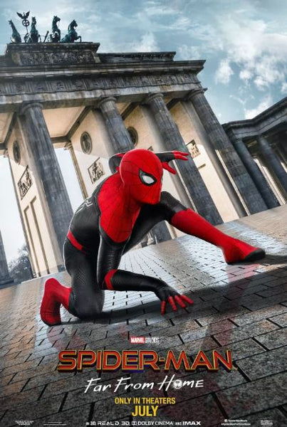 SPIDER-MAN FAR FROM HOME MARVEL HD GOOGLE PLAY DIGITAL COPY MOVIE CODE (DIRECT INTO GOOGLE PLAY) CANADA