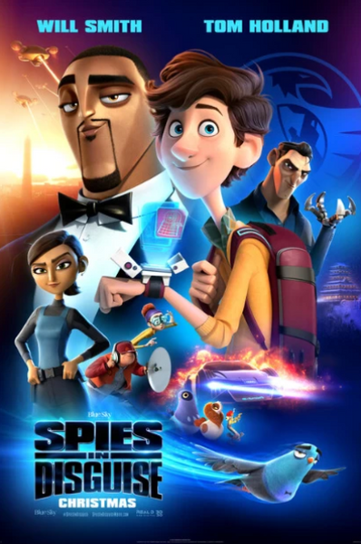SPIES IN DISGUISE HD GOOGLE PLAY DIGITAL COPY MOVIE CODE (DIRECT INTO GOOGLE PLAY) CANADA