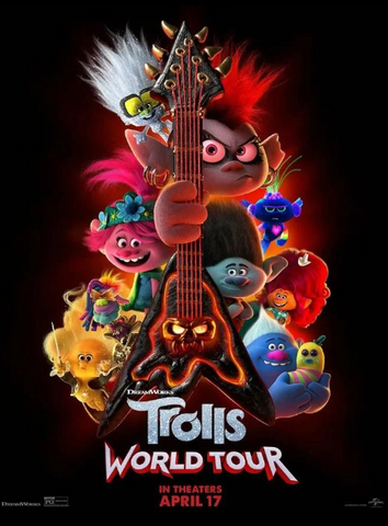 TROLLS WORLD TOUR / TROLLS 2 HD GOOGLE PLAY DIGITAL COPY MOVIE CODE (DIRECT INTO GOOGLE PLAY) CANADA
