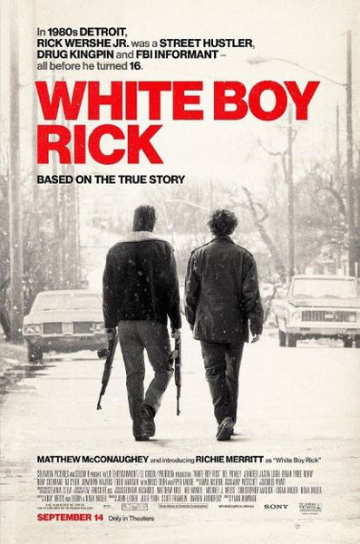 WHITE BOY RICK HDX UV ULTRAVIOLET DIGITAL MOVIE CODE