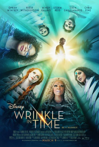 A WRINKLE IN TIME DISNEY HD GOOGLE PLAY DIGITAL COPY MOVIE CODE
