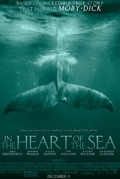IN THE HEART OF THE SEA HDX UV ULTRAVIOLET DIGITAL MOVIE CODE