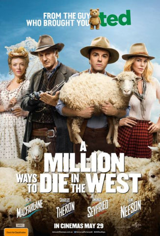 A MILLION WAYS TO DIE IN THE WEST UNRATED HD iTunes DIGITAL COPY MOVIE CODE