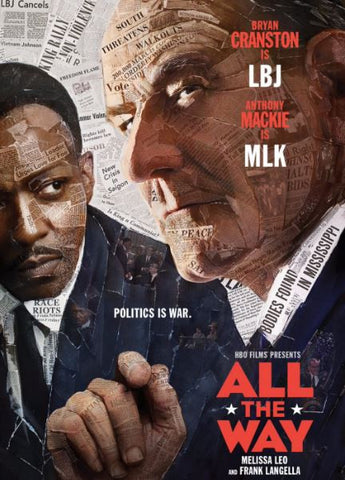 HBO's ALL THE WAY HD GOOGLE PLAY DIGITAL COPY MOVIE CODE ONLY