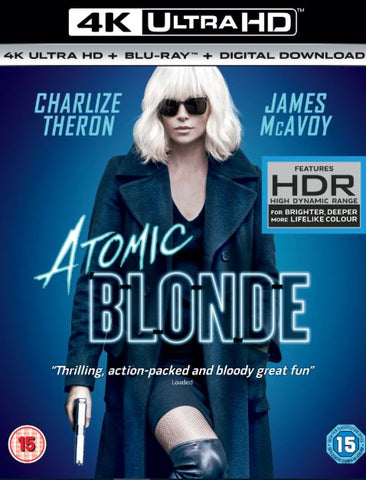 ATOMIC BLONDE 4K UHD 4K iTunes DIGITAL COPY MOVIE CODE