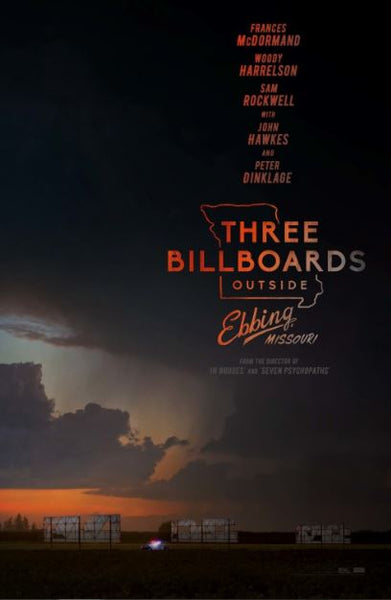 THREE BILLBOARDS OUTSIDE EBBING MISSOURI  HDX VUDU, HD MOVIES ANYWHERE, HD GOOGLE DIGITAL COPY MOVIE CODE (READ DESCRIPTION FOR REDEMPTION SITE) USA