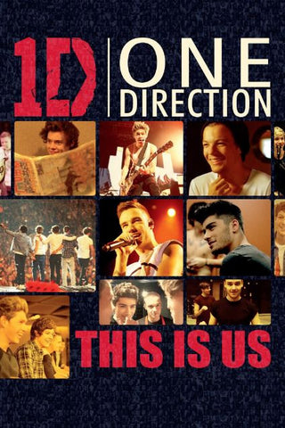 1D ONE DIRECTION THIS IS US HDX UV ULTRAVIOLET DIGITAL MOVIE CODE