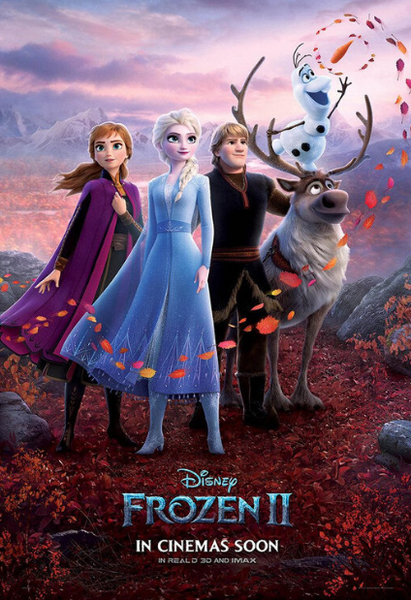 FROZEN 2 DISNEY HD GOOGLE PLAY DIGITAL COPY MOVIE CODE (DIRECT INTO GOOGLE PLAY) USA CANADA