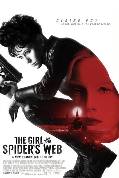 THE GIRL IN THE SPIDER'S WEB HD GOOGLE PLAY DIGITAL COPY MOVIE CODE
