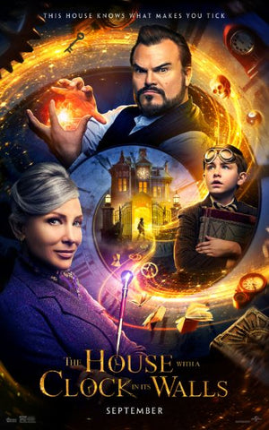 THE HOUSE WITH A CLOCK IN ITS WALLS HD GOOGLE PLAY DIGITAL COPY MOVIE CODE (READ DESCRIPTION FOR REDEMPTION INFO) CANADA